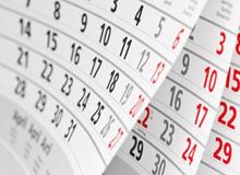 calendar220x160